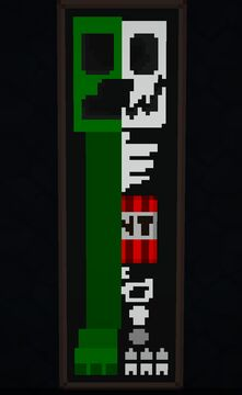 Creeper 101 - ArtMap Map Art Minecraft Map & Project