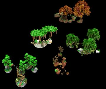 5 Parkour Course Pack Minecraft Map & Project