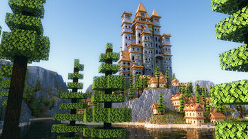 Island Castle Minecraft Map & Project