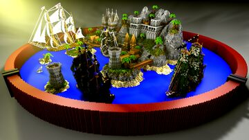 Pirates of the Caribbean Minecraft Map & Project