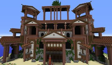 Structure V Minecraft Map & Project