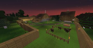 Le Ranch Minecraft Map & Project