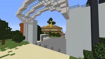 Modern Hidden leaf Village Minecraft Map & Project