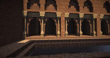 Arabic Palace Minecraft Map & Project