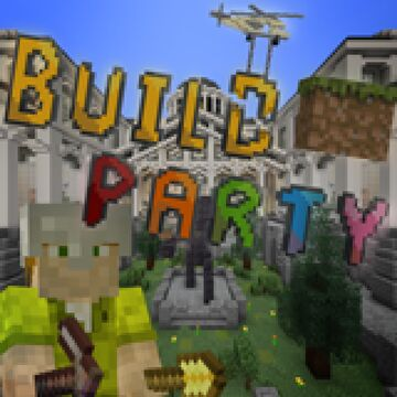 Build Party | Building Minigame | 2-11 players | Realms Map | 1.16.4/1.16.5 | By Command Realm Minecraft Map & Project