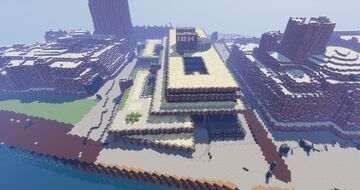 IBM office HQ London 1:1 Minecraft Map & Project