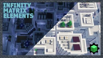 6 Infinity Matrix Elements Minecraft Map & Project