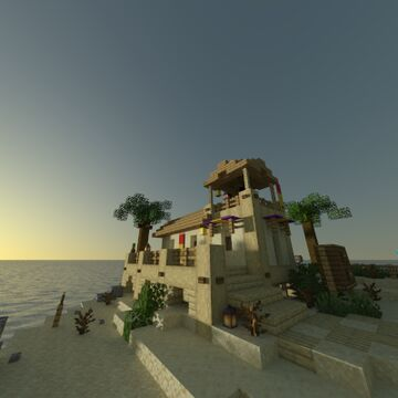 Sunrise Boulevard Lifeguard station [Brotopia] Minecraft Map & Project