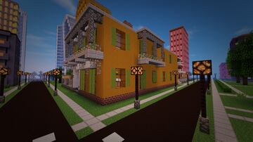 Marie Laveau hair salon (American Horror Story: Coven) Minecraft Map & Project