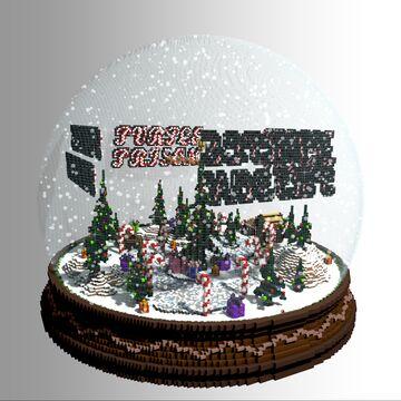 Snow Globe Minecraft Map & Project