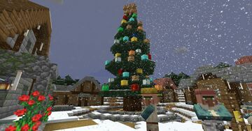 Christmas Town Minecraft Map & Project