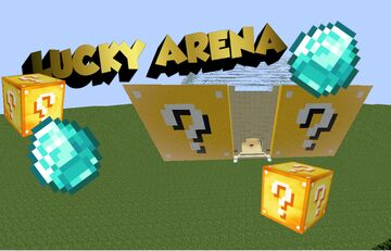 LUCKY ARENA (EDIT) Minecraft Map & Project
