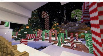 Gingerbread town Minecraft Map & Project