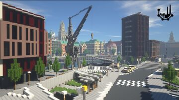Werben an European Minecraft City Minecraft Map & Project