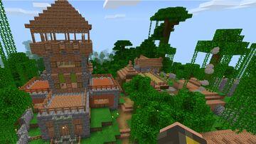 As We Go - Starter Base 1.16 (Bedrock) - version 1.0 Minecraft Map & Project