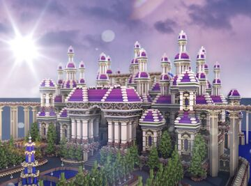 "Minecraft Build ""Palace"" Minecraft Map & Project"