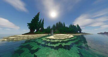 Beautiful Island [Survival] Minecraft Map & Project