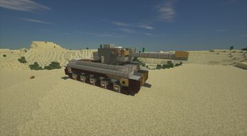 Kelly's Heroes Tiger 1 tank Minecraft Map & Project