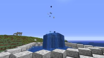 Tutorial: Working Redstone Fountain Minecraft Map & Project