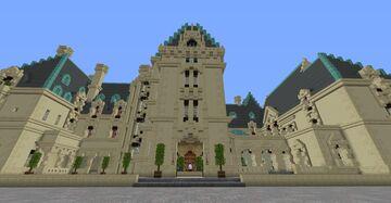 Biltmore Estate - Full interior - Mansion/Castle Minecraft Map & Project