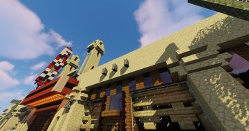 Fox Theatre Recreation  [Atlanta] Minecraft Map & Project