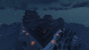 Matsuyama Castle Minecraft Map & Project