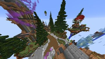 Cool SkyBlock spawn/lobby map + schematics Minecraft Map & Project