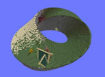 Mobius strip skyblock Minecraft Map & Project