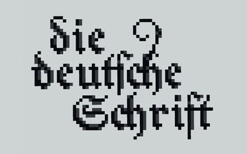 Fraktur (German Blackletters) Template [DOWNLOAD] Minecraft Map & Project
