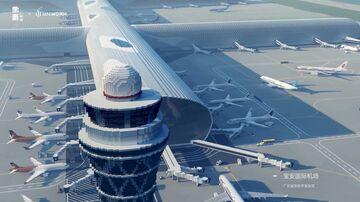 Shenzhen International Airport [GNwork × Pixel China Project] Minecraft Map & Project