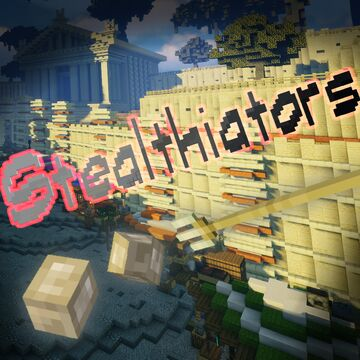 Stealthiators | Stealth-based Minigame | 2-11 players | Realms Map | 1.16.4/1.16.5 (Resource Pack Required) | By Command Realm Minecraft Map & Project