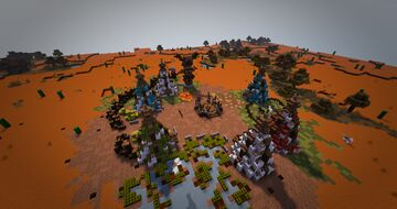 Nomad Camp | South-Africa Minecraft Map & Project