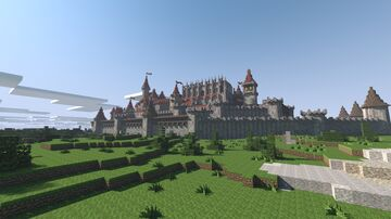 Citadel of Kings - Kingdom of Dixie Minecraft Map & Project