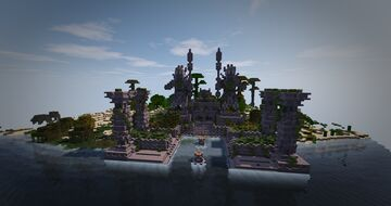 Indonesia Temple Minecraft Map & Project