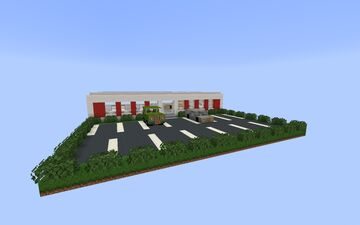 Car Dealership Minecraft Map & Project