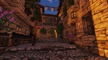 Mediterranean town street [Conquest Reforged] Minecraft Map & Project