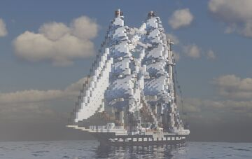 Belem 1:1 - by Lucas - ShipSide Minecraft Map & Project