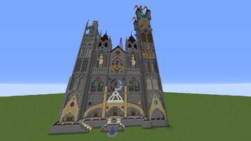 Miroum Cathédrale Minecraft Map & Project
