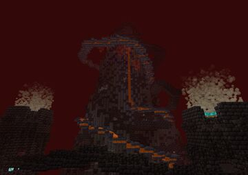 Castle of Nether Corruption Minecraft Map & Project