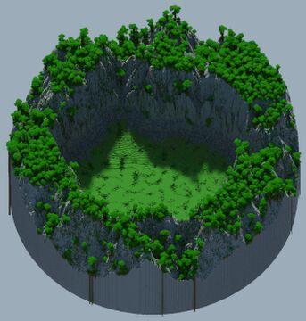 Jungle Hub - 750x750 Minecraft Map & Project