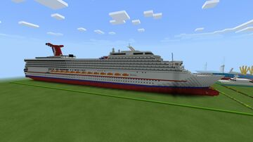 Carnival Conquest 1:1 Scale Minecraft Map & Project