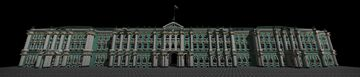Sankt-Petersburg Hermitage museum/Winter palace Minecraft Map & Project