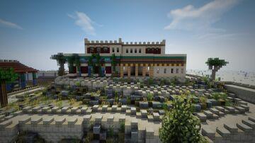 Ancient Greece Mycenae Minecraft Map & Project