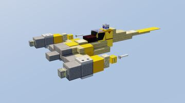 N-1 Starfighter Minecraft Map & Project