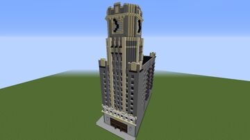 Queens Clock Tower Minecraft Map & Project