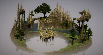 Crescent Garden Minecraft Map & Project