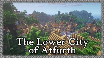 The Lower City of Altfurth Minecraft Map & Project