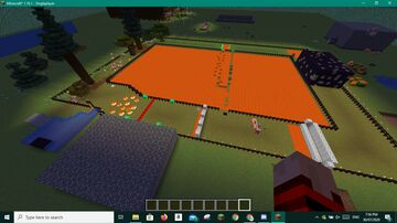 A parkour run/mob fight/idrk what Minecraft Map & Project