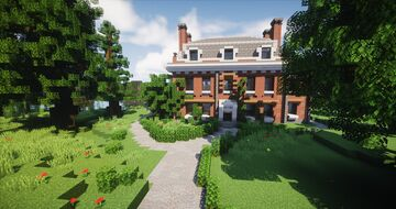 Georgian Country House Minecraft Map & Project