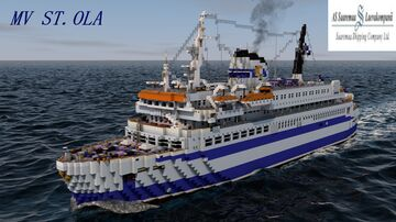 MV ST.OLA [FULL INTERIOR] Minecraft Map & Project